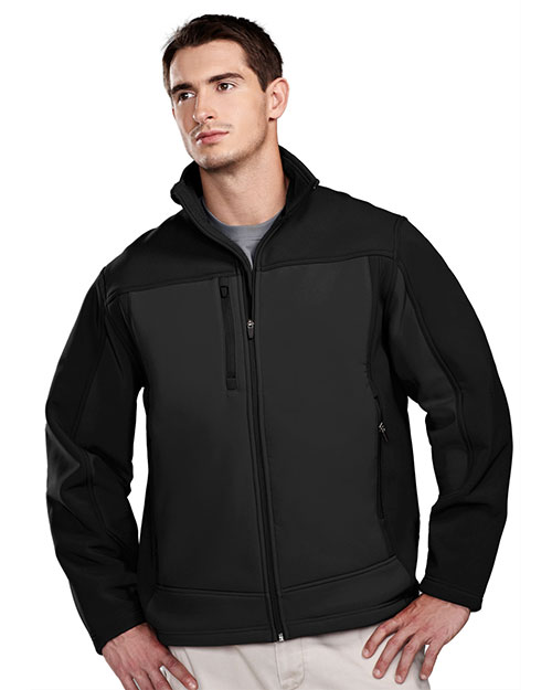 TM Performance 6825 Men's Rockford Stretch Bonded Soft Shell Jacket at GotApparel