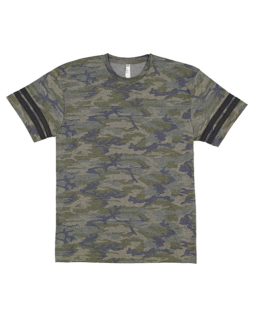 LAT 6937 Men 4.5 oz Football T-Shirt at GotApparel