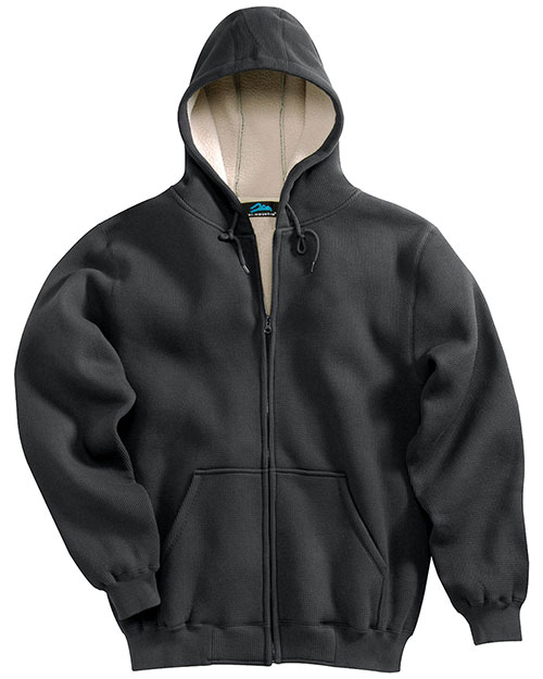 Tri-Mountain 697 Men Marshall Thermal Full-Zip Hooded Sweatshirt at GotApparel