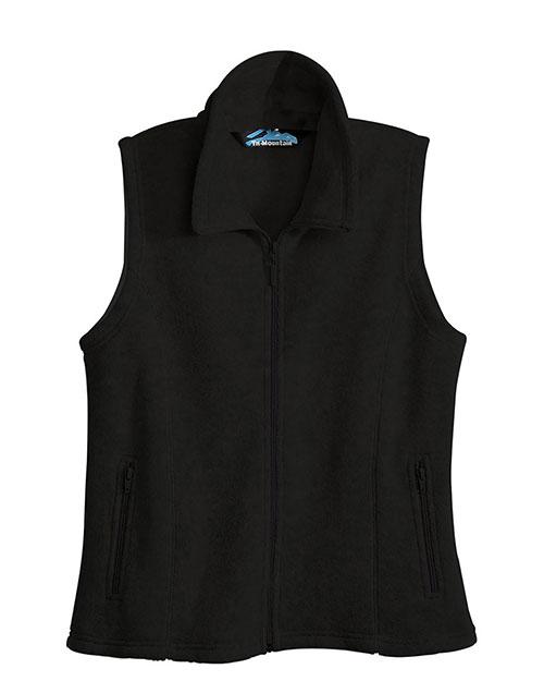 Tri-Mountain 7020 Women Crescent Micro Fleece Vest at GotApparel