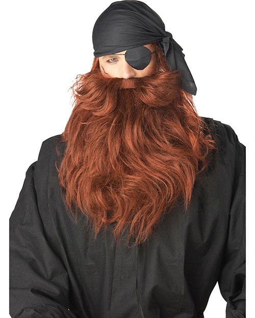 California Costumes 70489 Men Pirate Beard & Moustache at GotApparel