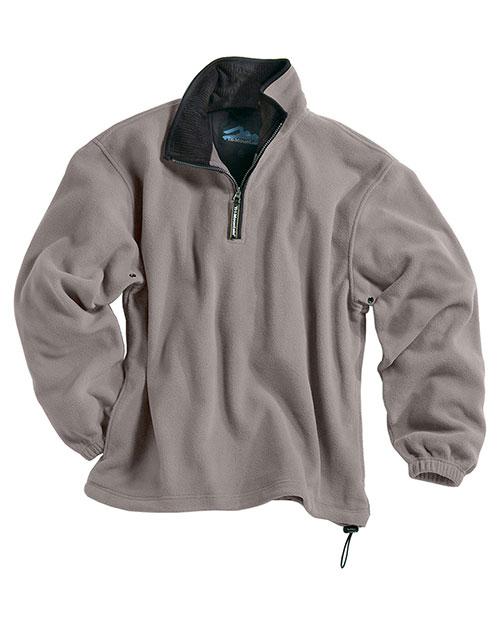 Tri-Mountain 7100 Men Escape Micro Fleece 1/4-Zip Pullover at GotApparel