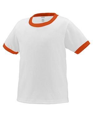 Augusta 712 Toddlers Ringer Short Sleeve T-Shirt at GotApparel