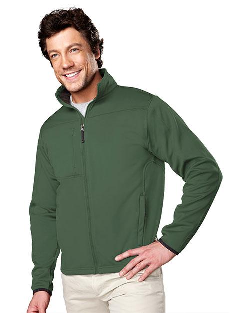 Tri-Mountain 7350 Men Contender Polyknit Fleece Full-Zip Jacket at GotApparel
