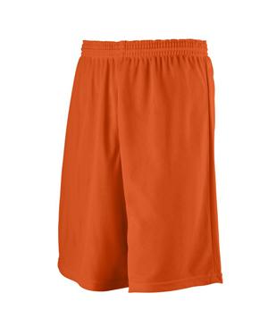 Augusta 738 Men Longer Length Mini Mesh League Short at GotApparel