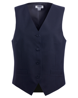 Edwards 7490 Women V-Neck Economy Vest at GotApparel