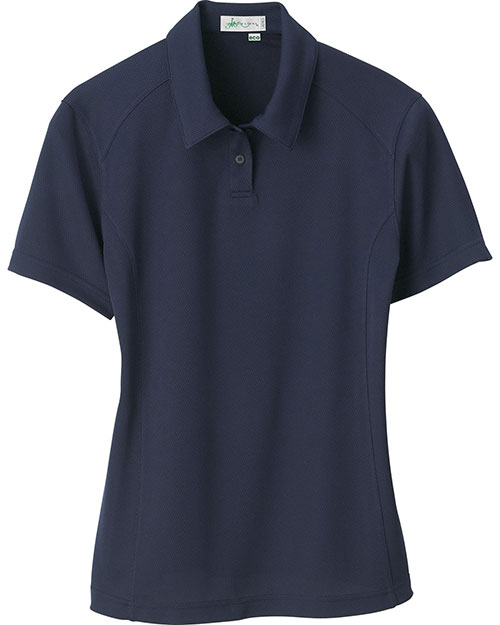 Il Migliore 75053 Women Recycled Polyester Performance Birdseye Polo at GotApparel