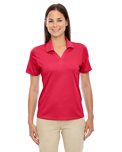 Extreme 75106 Women Edry  Silk Luster Jersey Polo at GotApparel