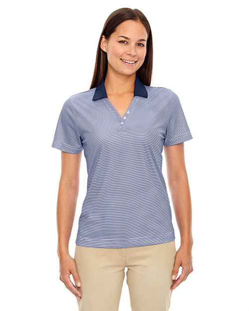 Extreme 75115 Women Eperformance  Launch Snag Protection Striped Polo at GotApparel