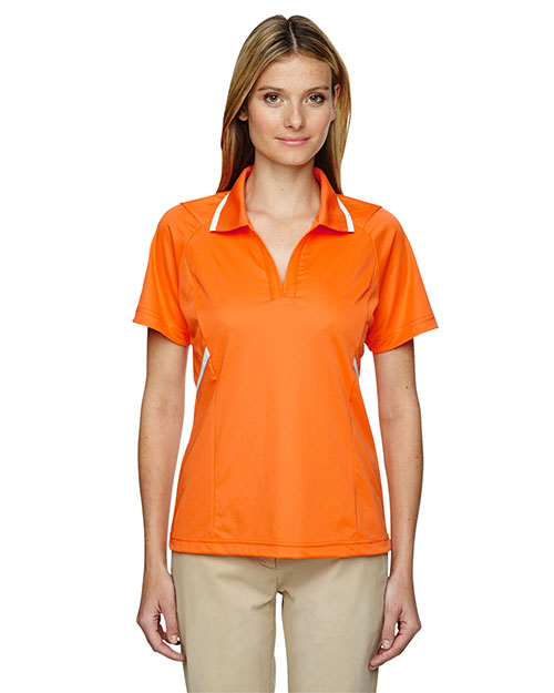 Extreme 75118 Women Eperformance  Propel Interlock Polo With Contrast Tape at GotApparel