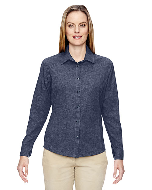 North End 77045 Women Excursion Utility Two-Tone Performance Shirt at GotApparel