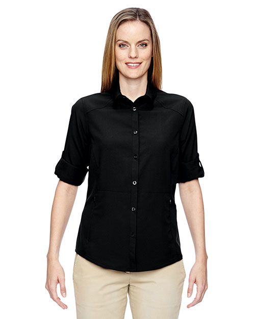 North End 77047 Women Excursion Concourse Performance Shirt at GotApparel