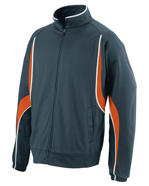 Augusta 7710 Adult Rival Front Zipper Jacket at GotApparel