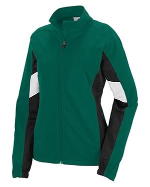 Augusta 7724 Women Tour De Force Front Zipper Jacket at GotApparel