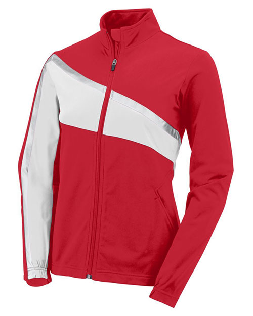 Augusta 7735 Women Aurora Front Zipper Jacket at GotApparel