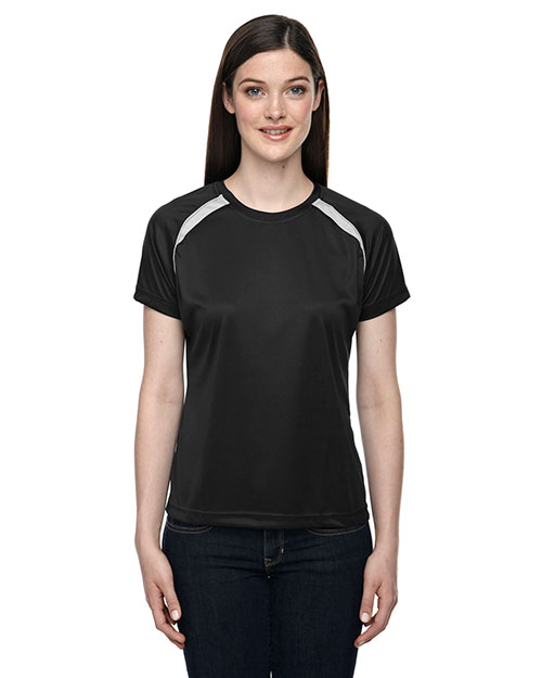 North End 78068 Women Athletic Crew Neck Top at GotApparel