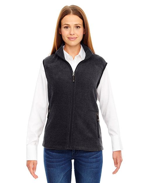 North End 78173 Women Voyage Fleece Vest at GotApparel