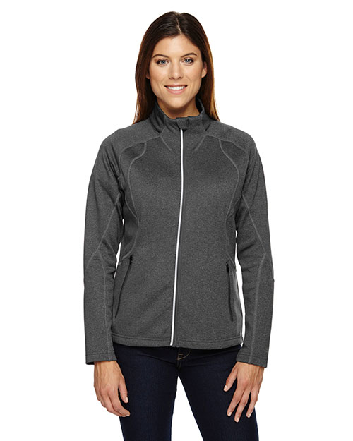 North End 78174 Women Gravity Performance Fleece Jacket at GotApparel