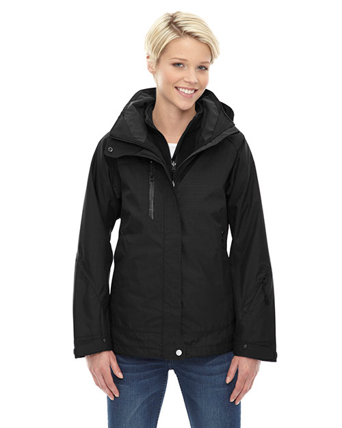 North End 78178 Women Caprice 3-in-1 Jacket with Soft Shell Liner at GotApparel