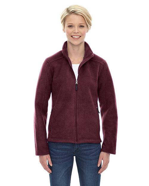 Core 365 78190 Women Journey Fleece Jacket at GotApparel