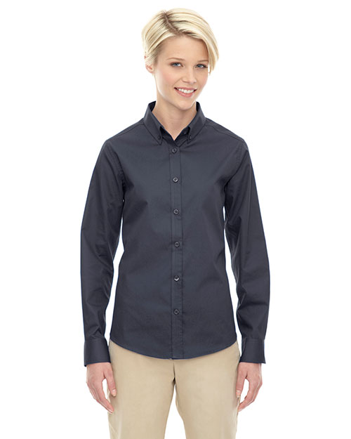 Core 365 78193 Women Operate Long-Sleeve Twill Shirt at GotApparel