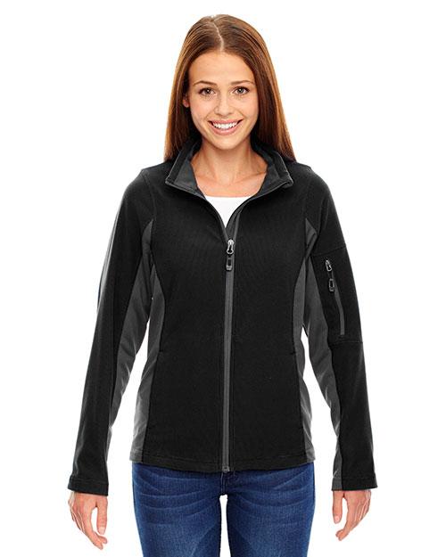 North End 78198 Women Generate Textured Fleece Jacket at GotApparel