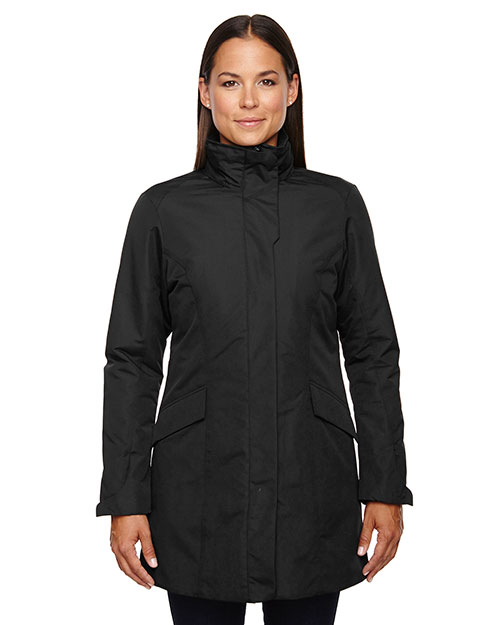 North End 78210 Women Promote Insulated Car Jacket at GotApparel