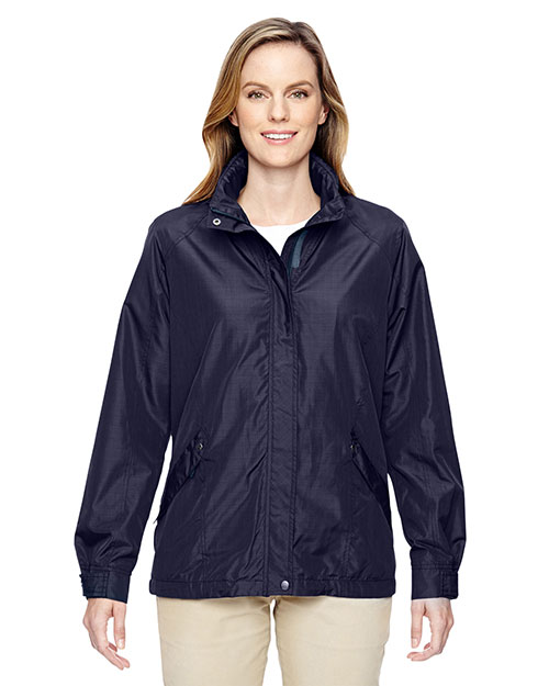 North End 78216 Women Excursion Transcon Lightweight Jacket with Pattern at GotApparel
