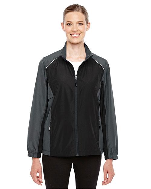 Core 365 78223 Women Stratus Colorblock Lightweight Jacket at GotApparel