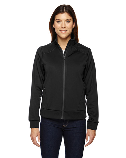 North End 78660 Women Evoke Bonded Fleece Jacket at GotApparel