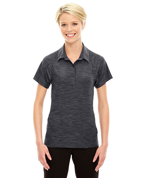 North End 78668 Women Barcode Performance Stretch Polo at GotApparel