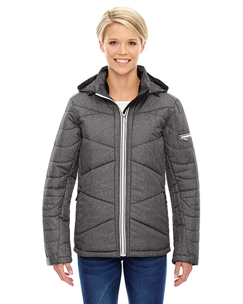 North End 78698 Women Avant Tech Melange Insulated Jacket with Heat Reflect Technology at GotApparel