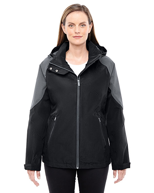 North End 78808 Women Impulse Interactive Seam-Sealed Shell at GotApparel