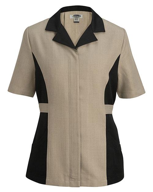 Edwards 7890 Women  Short-Sleeve Tunic at GotApparel