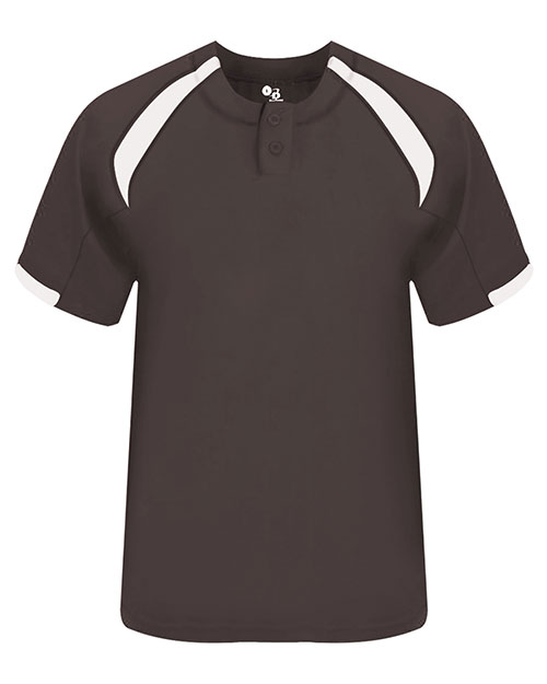 Badger 7932 Men Competitor Henley Performance Tee at GotApparel