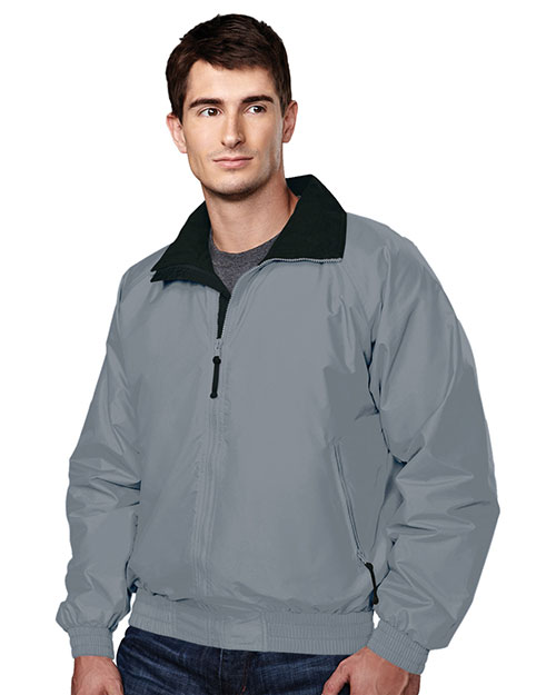 Tri-Mountain 8000 Men Volunteer Nylon Jacket With Lightweight Fleece Lining at GotApparel