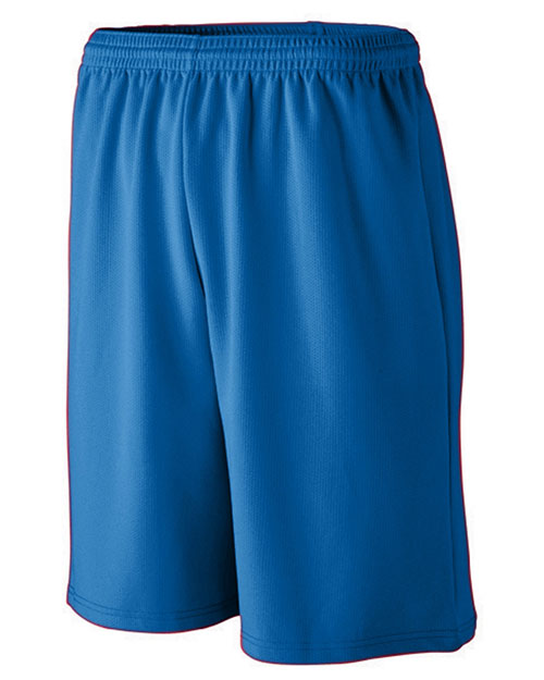 Augusta 802 Men Long Length Wicking Mesh Athletic Short at GotApparel
