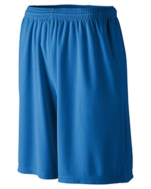 Augusta 803 Men Longer Length Wicking Short With Pocket at GotApparel