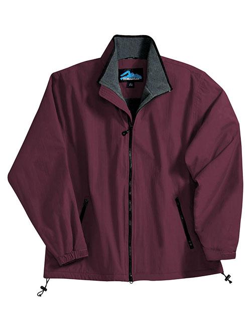 Tri-Mountain 8090 Men Patriot Nylon Jacket With Fleece Lining at GotApparel