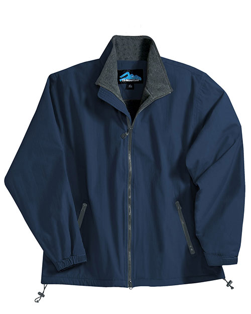 Tri-Mountain 8090 Men Patriot Nylon Jacket With Fleece Lining at GotApparel