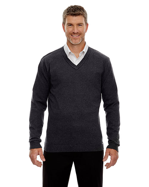North End 81010 Men Merton Soft Touch V-Neck Sweater at GotApparel
