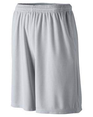 Augusta 814 Boys Longer Length Wicking Short With Pocket at GotApparel