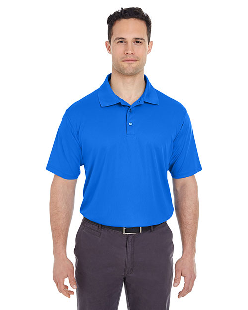 UltraClub 8210T Men Tall Cool & Dry Mesh Pique Polo at GotApparel