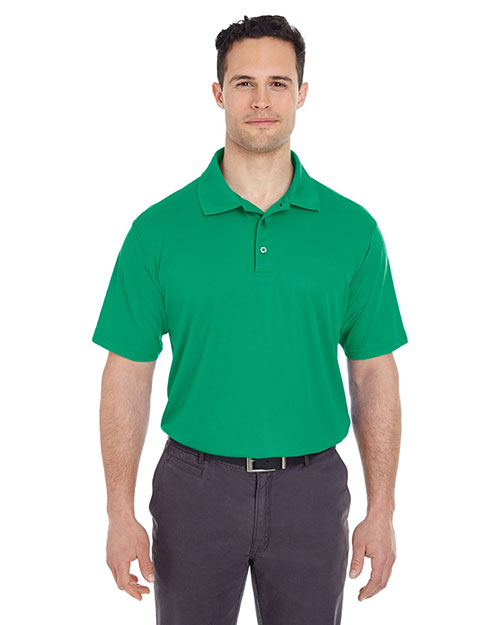 UltraClub 8210 Men Cool & Dry Mesh Pique Polo at GotApparel