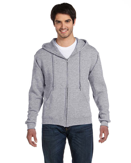 Fruit Of The Loom 82230 Men 12 Oz. Super Cotton 70/30 Full-Zip Hood at GotApparel