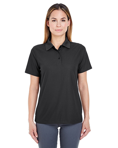 UltraClub 8240L Women Cool & Dry PebbleKnit Polo at GotApparel
