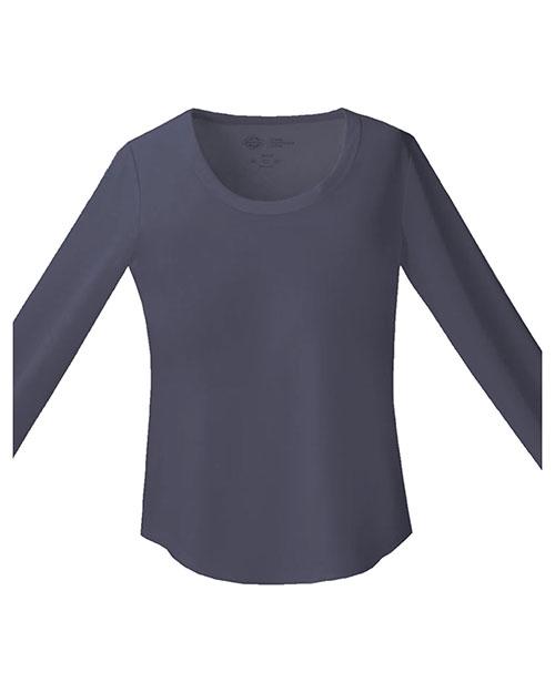 Dickies Medical 82910 Women Long Sleeve Underscrub Knit Tee at GotApparel
