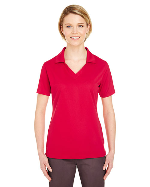 Ultraclub 8320L Women Platinum Performance Jacquard Polo With Temp Control Technology at GotApparel