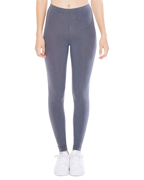 Custom Embroidered American Apparel 8328W Women Cotton Spandex Jersey Leggings at GotApparel