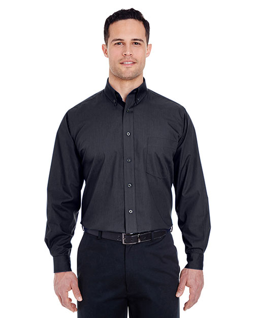 UltraClub 8355 Men Easy Care Broadcloth at GotApparel